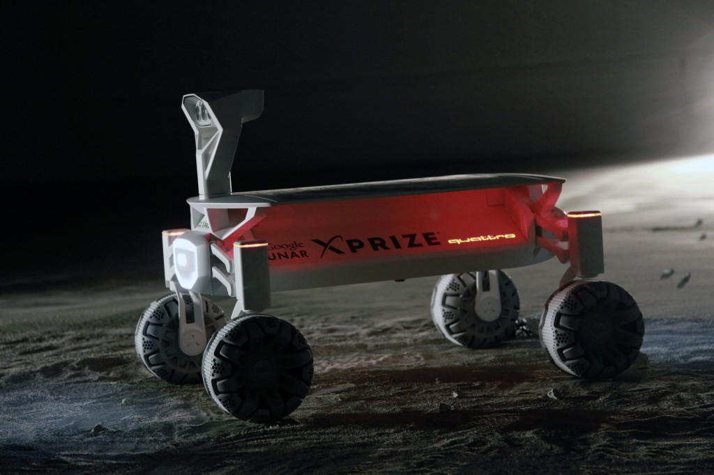Audi's mission to the moon.