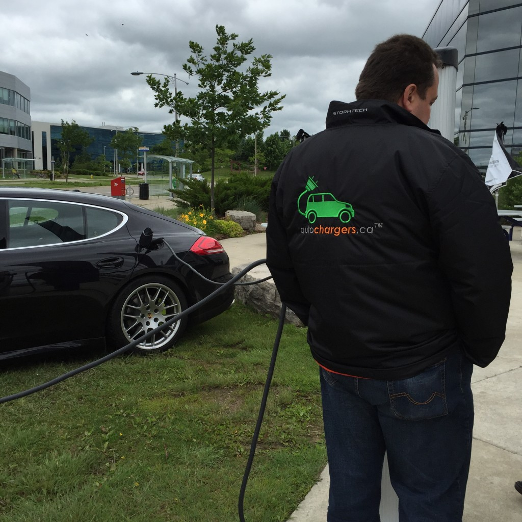 Porsche E-Hybrids in Waterloo.