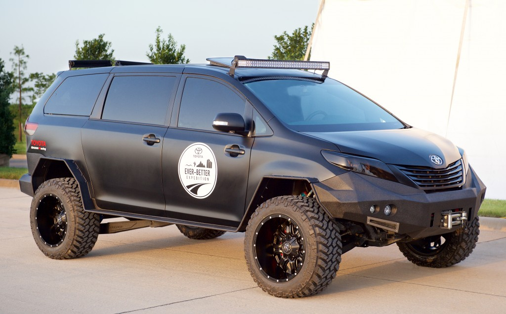 Toyota Ultimate Utility Vehicle.