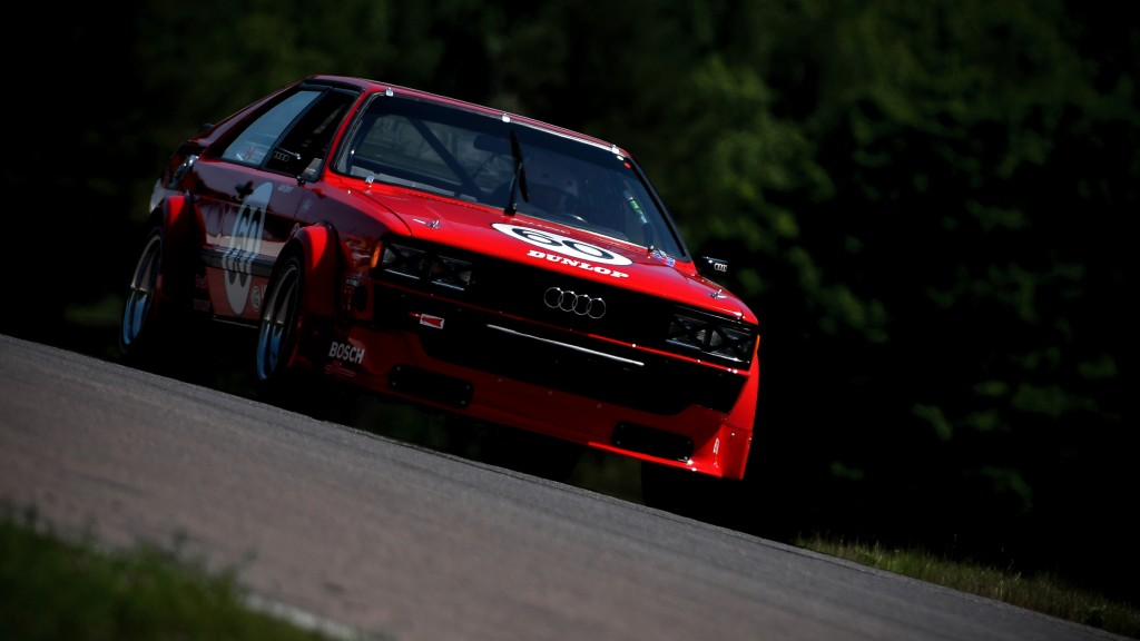 Perry Mason's Audi 80 race car.