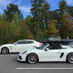 Siblings! Panamera and Boxster Spyder