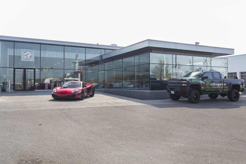 Exotics & Espresso at McLaren Toronto.
