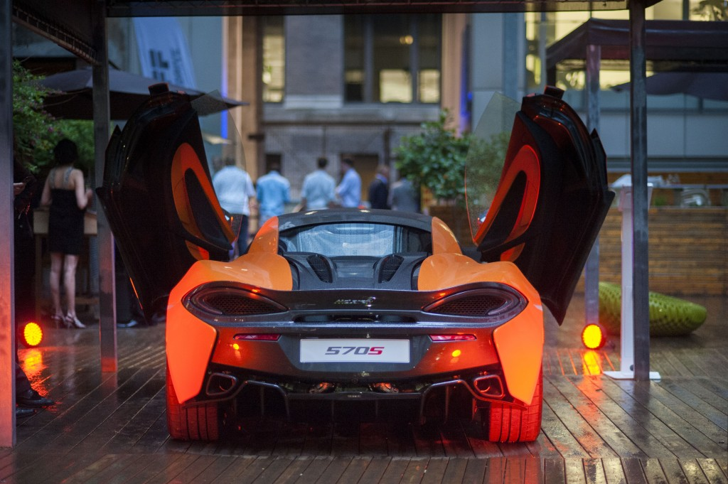McLaren party in Montreal.