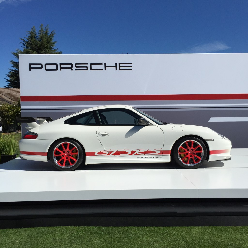 Porsche at Monterey Car Week.