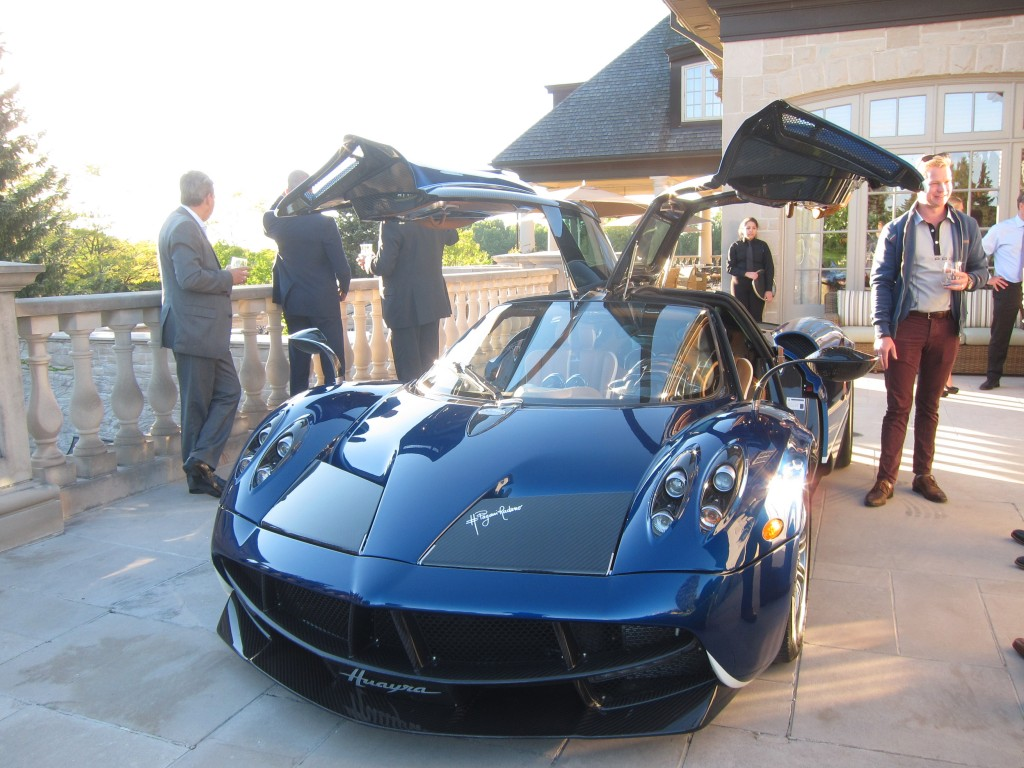 Pfaff evening with Pagani.