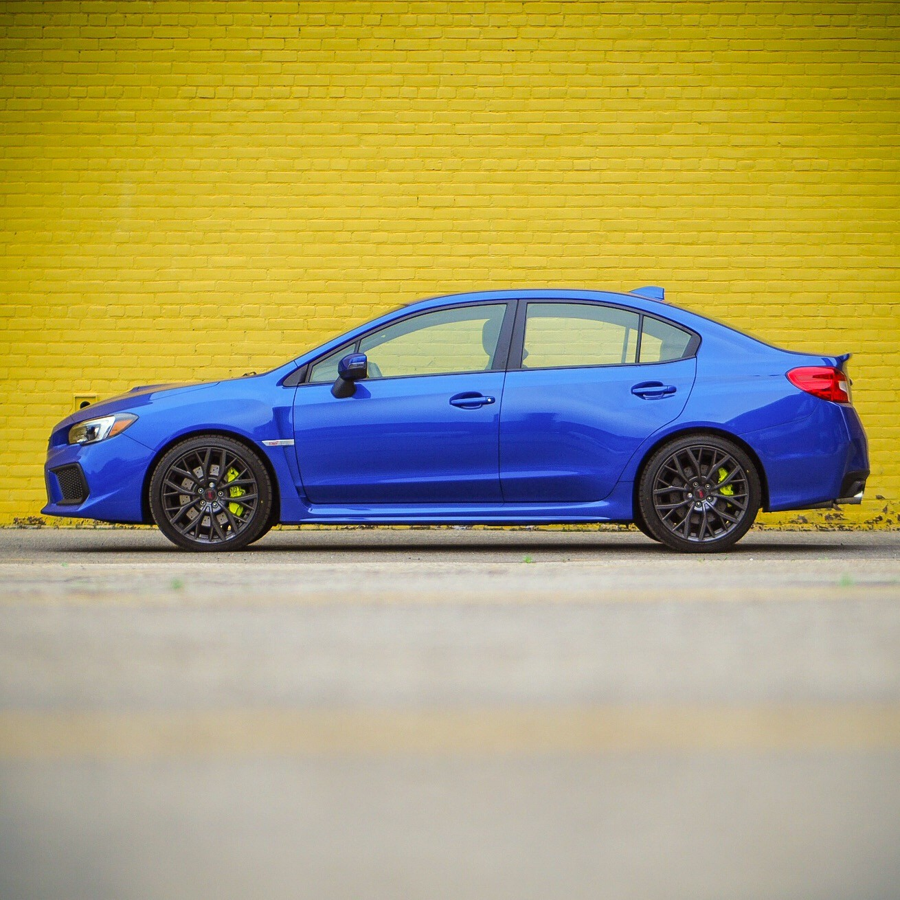 Review 2018 Subaru Wrx Sti Pfaff Auto 19 Inch Wheels On Under The Stis Hood Is Subarus Familiar 25 Litre Flat Four Topped By A Whopping Great Turbocharger Its Ratings Of 310 Hp And 290 Lb Ft Torque Are