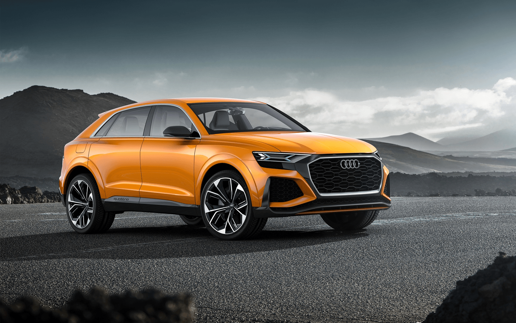 The All-New Audi Q8