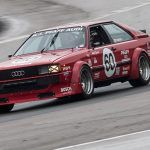 Audi 80 Coupe GT turn 1